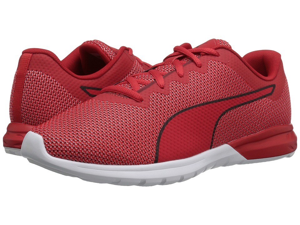 PUMA - Vigor (High Risk Red/Puma White) Men's Shoes