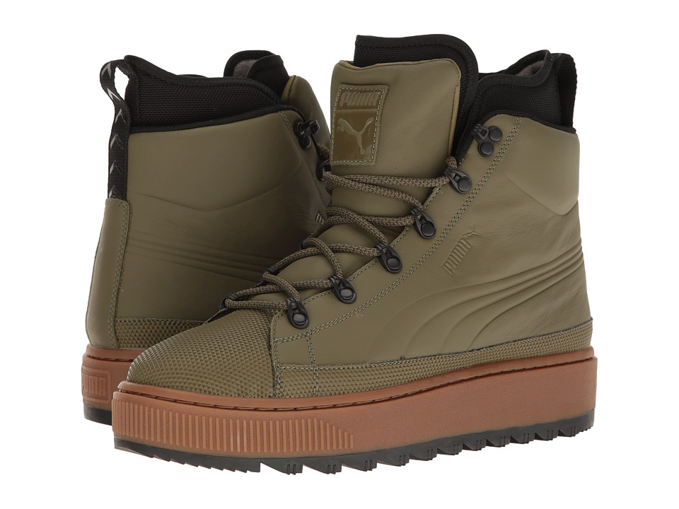 PUMA - The Ren Boot (Burnt Olive/Puma Black) Men's Shoes