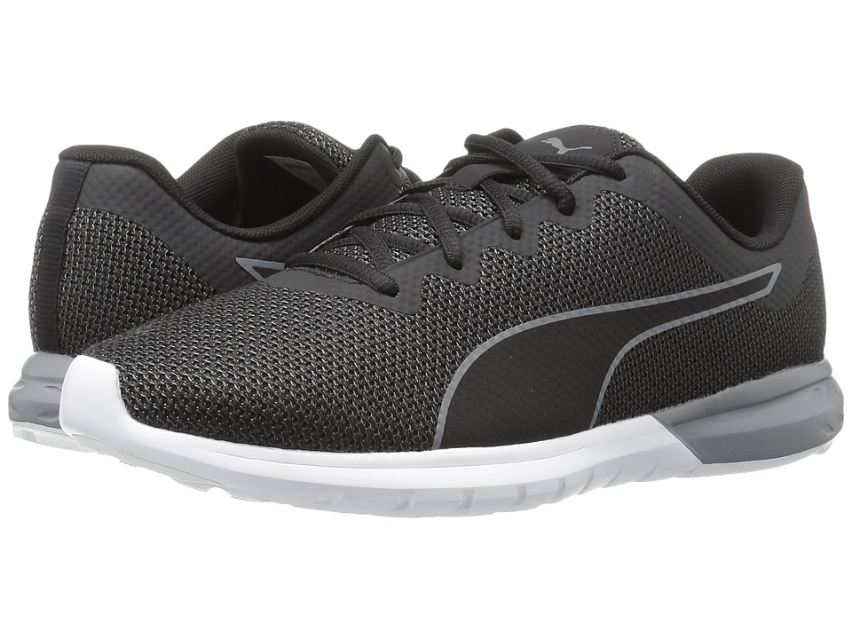 PUMA - Vigor (Puma Black/Quiet Shade/Puma White) Men's Shoes