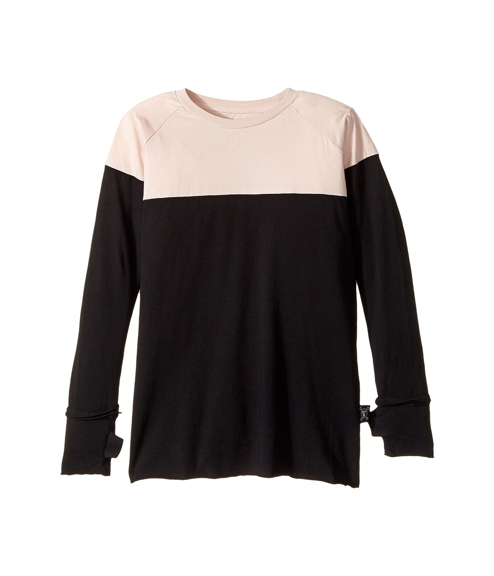 Nununu - 2 Colored Shirt (Little Kids/Big Kids) (Powder Pink) Girl's T Shirt