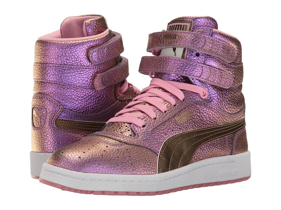 PUMA - Sky II Hi Reset (Prism Pink/Gold) Women's Shoes