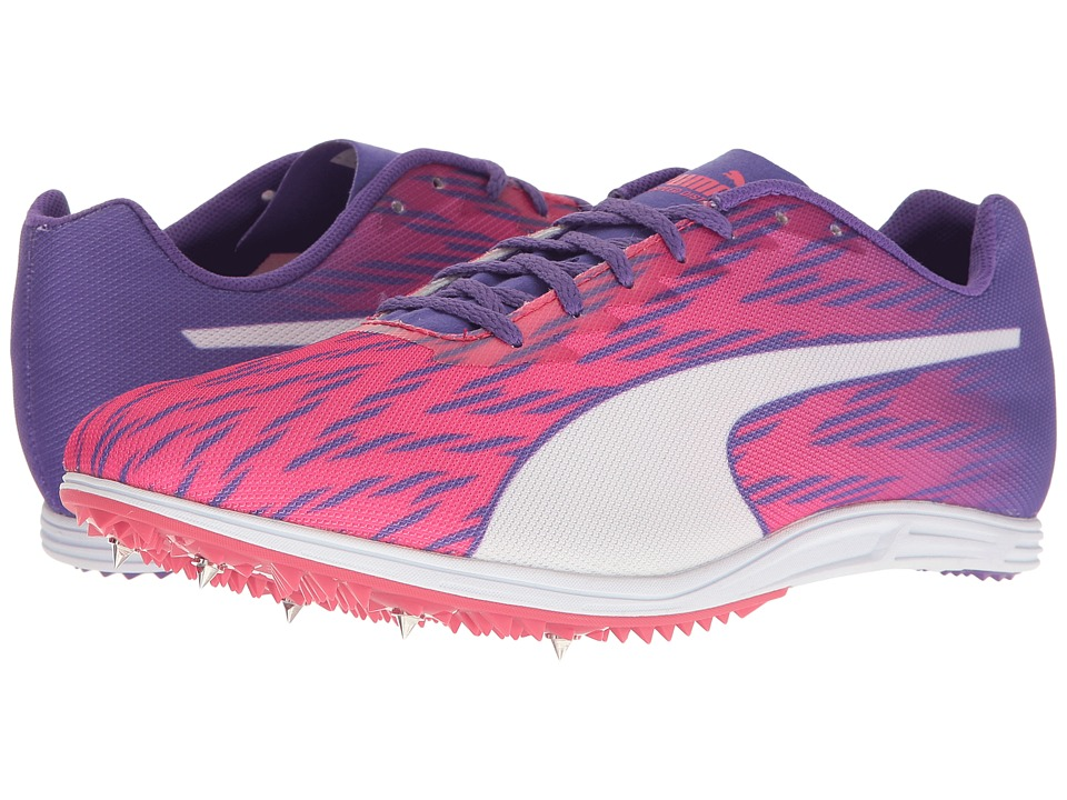 PUMA - Evospeed Distance 7 (Sparkling Cosmo/Electric Purple/Puma White) Women's Shoes
