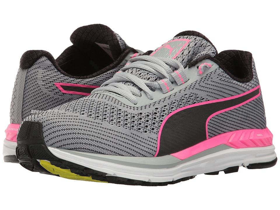 PUMA - Speed 600 S Ignite (Quarry/Puma Black/Knockout Pink) Women's Shoes