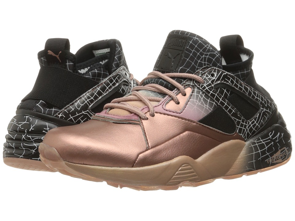 PUMA - Bog Sock RG (Rose Gold/Puma Black) Women's Shoes