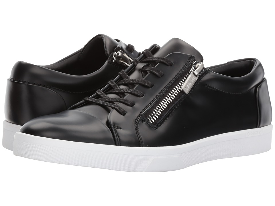 Calvin Klein - Ibrahim (Black Box Leather) Men's Shoes