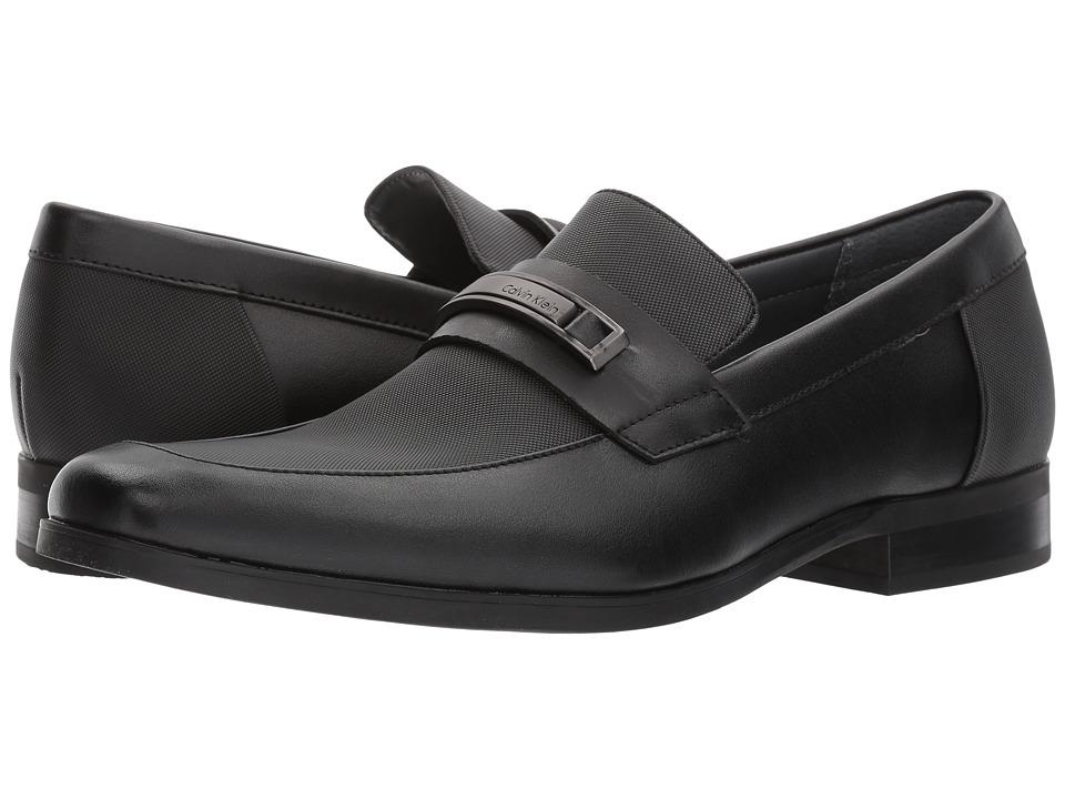 Calvin Klein Jameson (Black Soft Leather/City Emboss) Men