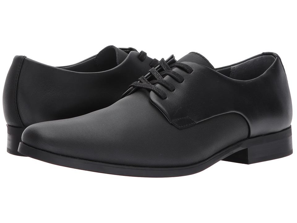 Calvin Klein Jasper (Black Soft Leather/City Emboss) Men