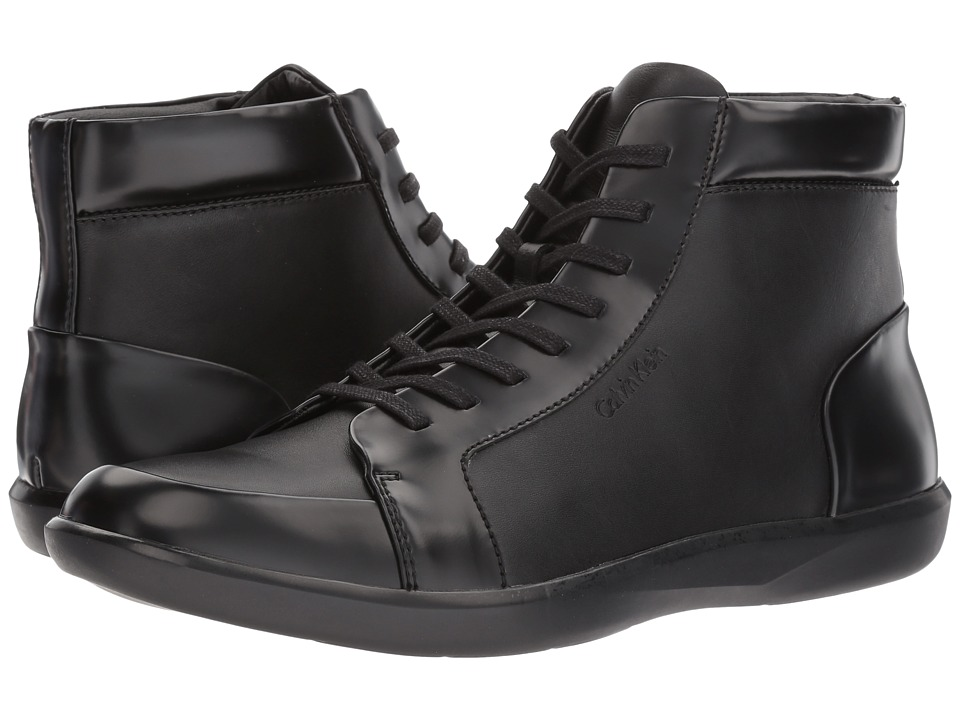 Calvin Klein - Malvern (Black Box Leather) Men's Shoes