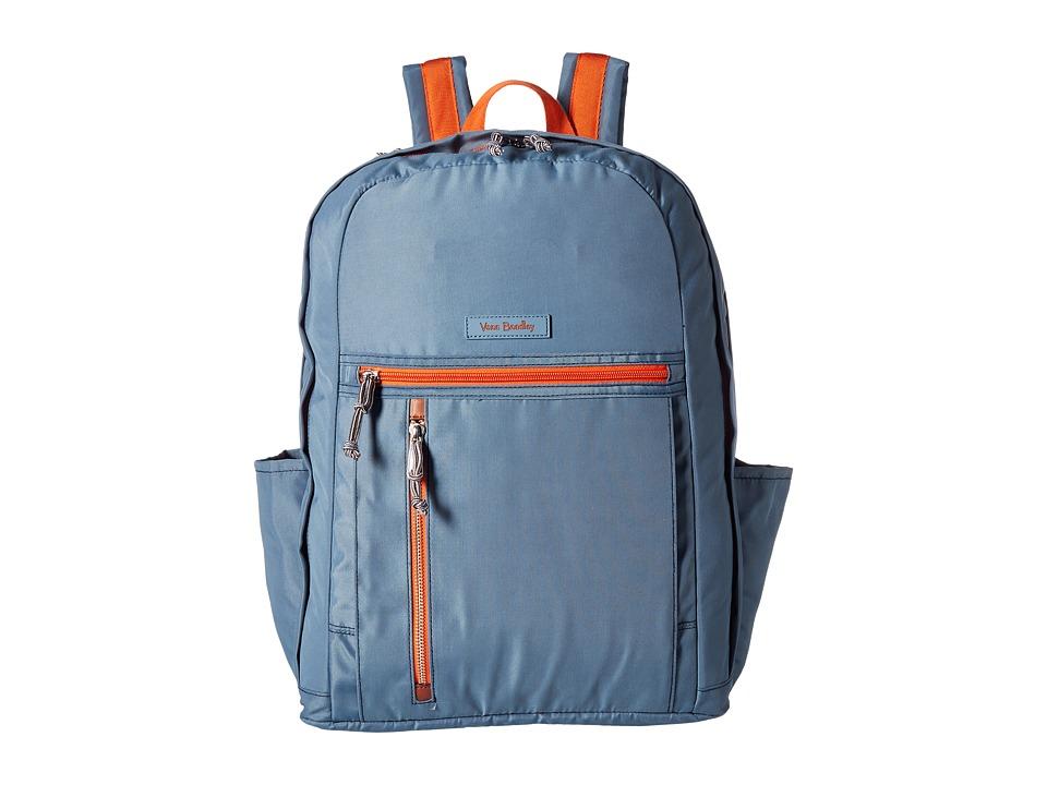 Vera Bradley - Grand Backpack (Mineral Blue) Backpack Bags