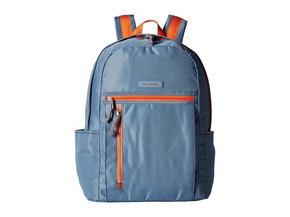 Vera Bradley - Lighten Up Small Backpack (Mineral Blue) Backpack Bags