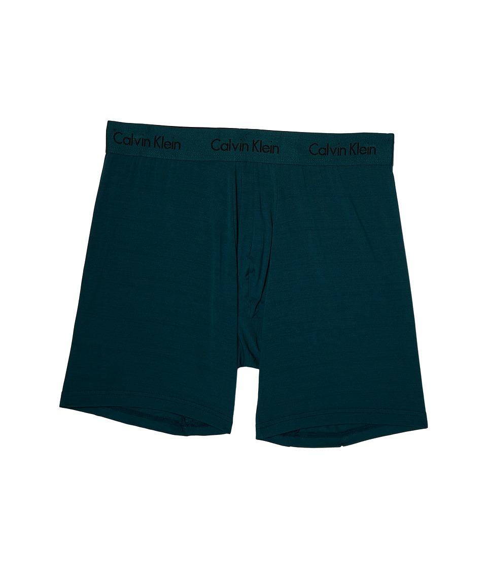Calvin Klein Underwear - Body Micro Modal Boxer Brief U5555 (Deep Teal) Men's Underwear