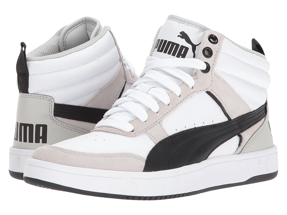PUMA - Rebound Street V2 (Puma White/Puma Black) Men's Shoes