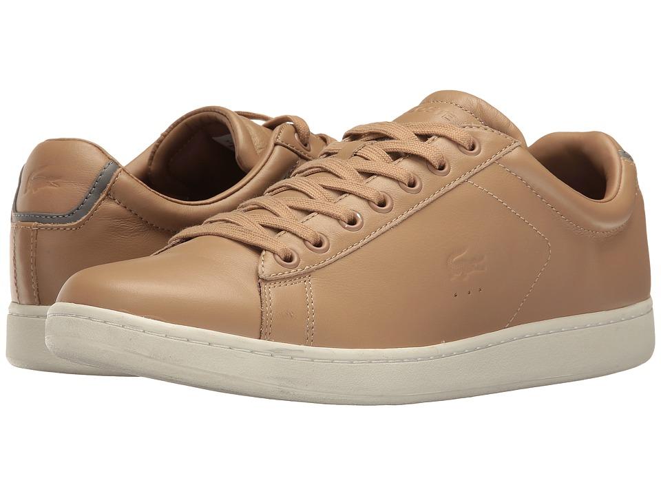 Lacoste - Carnaby Evo 416 2 (Light Tan) Men's Shoes