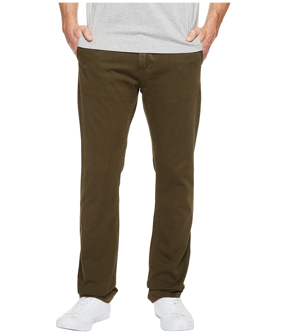 Jean Shop - Leon Selvedge Twill Slim Fit in Forest (Forest) Men's Jeans