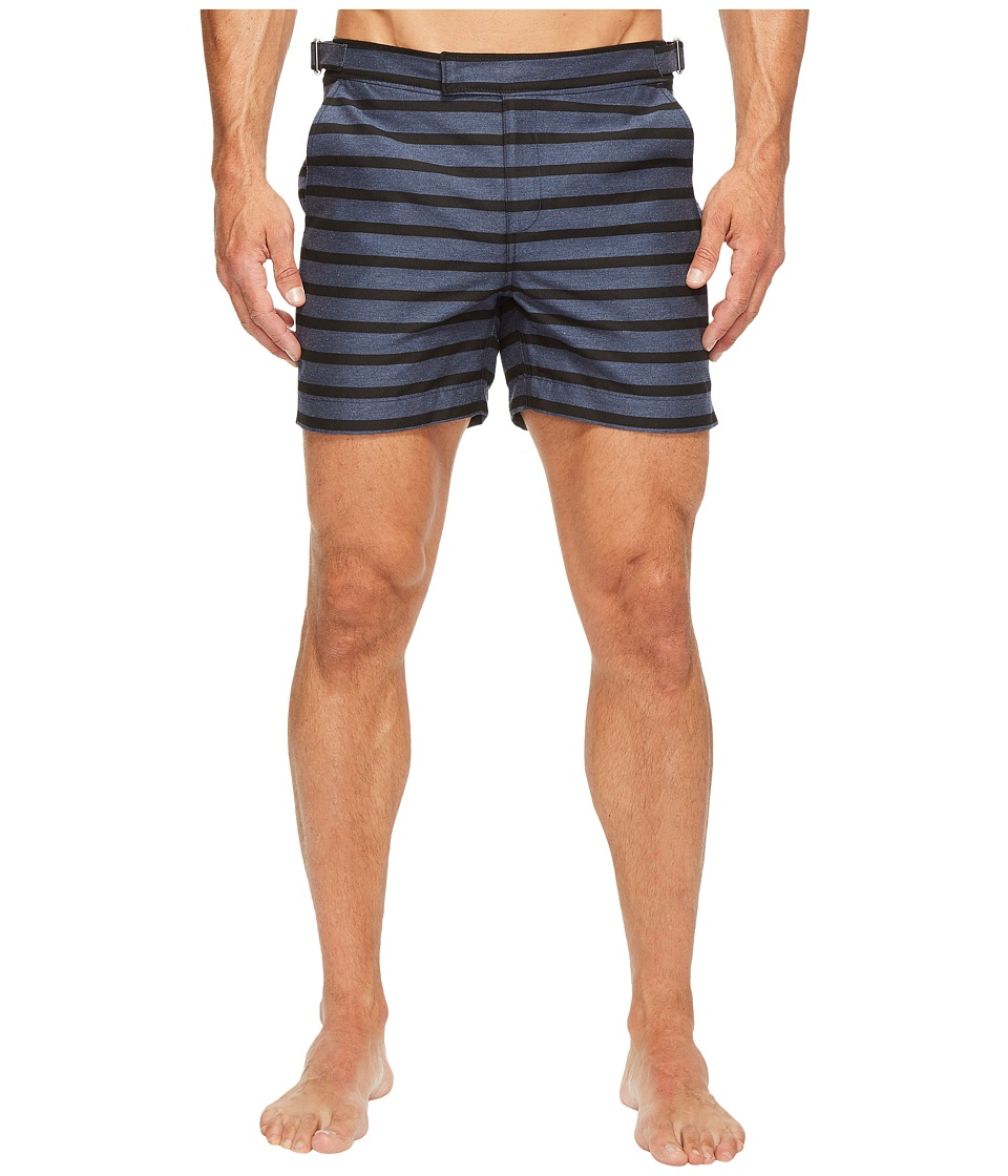 Exley NB - 5 Inch Bristol Swim Shorts (Indigo) Men's Swimwear