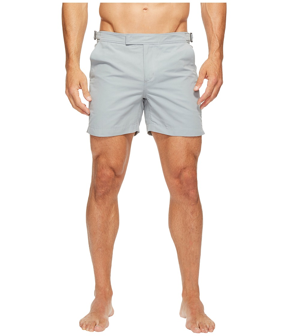 Exley NB - 5 Inch Bristol Swim Shorts (Grey) Men's Swimwear