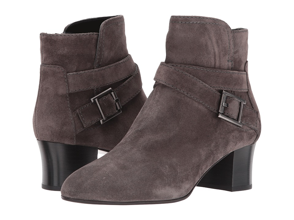 Aquatalia Francique (Dark Grey Suede) Women