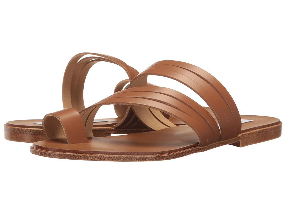 Steve Madden - Morgan (Cognac Leather) Women's Shoes
