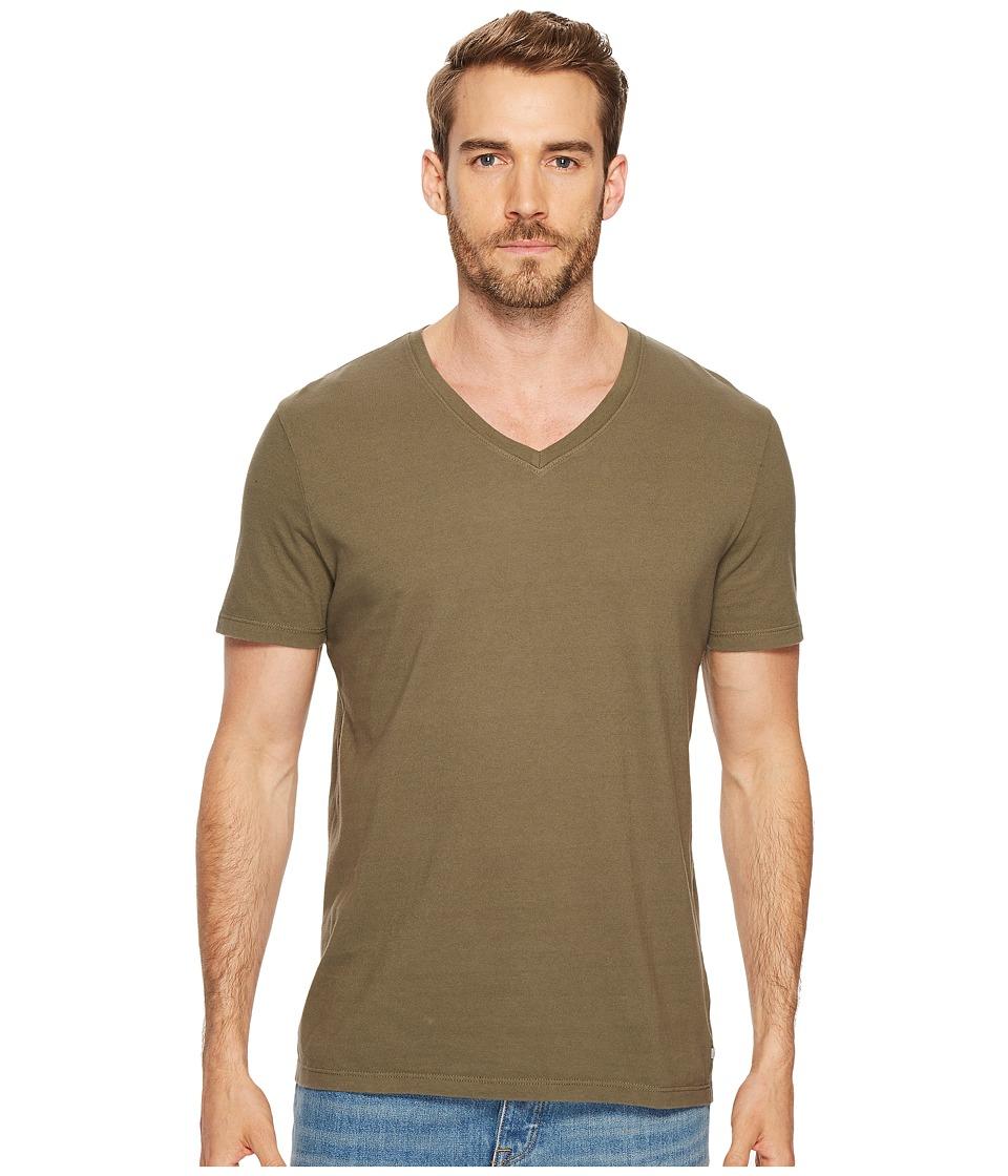 AG Adriano Goldschmied Commute Vee Short Sleeve Tee (Climbing Ivy) Men's T Shirt