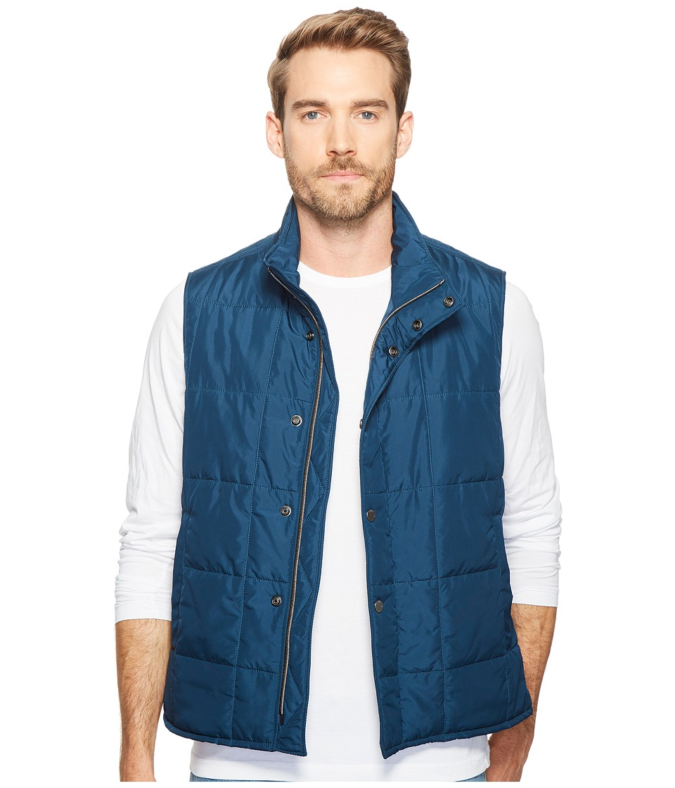Exley NB - Featherweight Quilted Vest (Atlantic) Men's Clothing