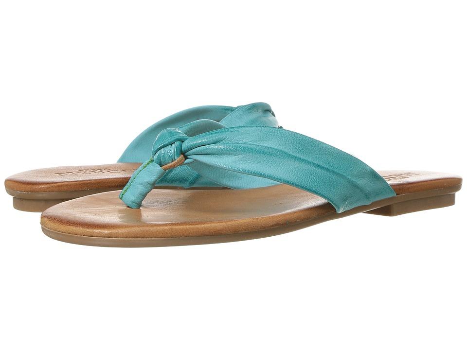 Sesto Meucci - 230 (Turquoise Cesa Kid Suede) Women's Shoes