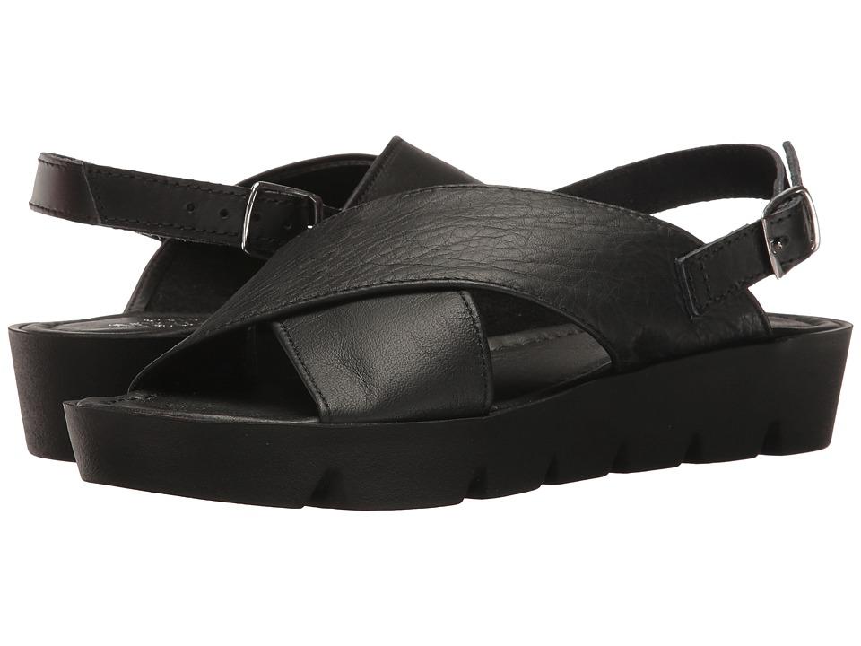 Sesto Meucci - Sygrid (Black Calf/Black Vacchetta) Women's Shoes