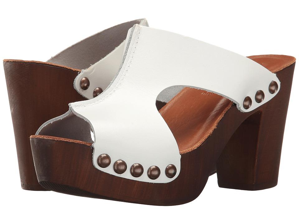 Sesto Meucci - Zaida (White Vacchetta) Women's Shoes