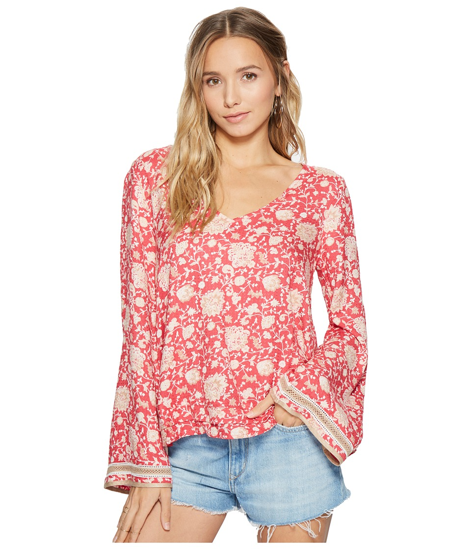 O'Neill - Landon Top (Holly Berry) Women's Blouse