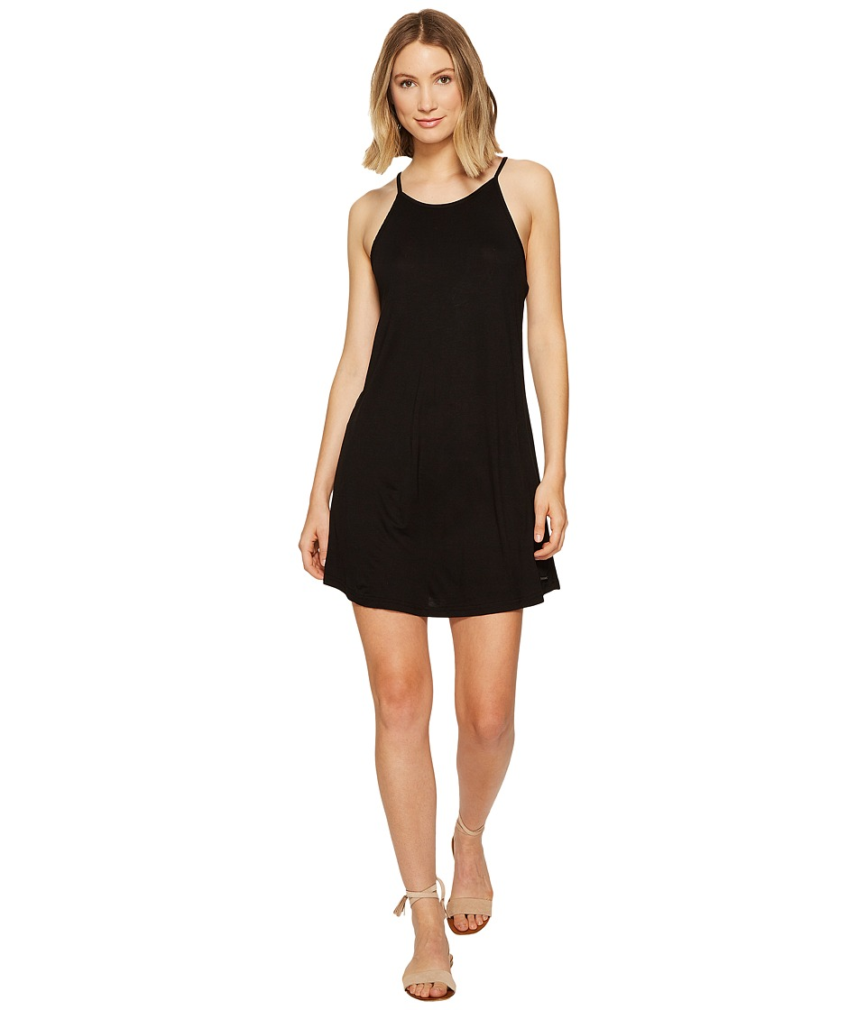 Roxy - I Did Didn't Solid Dress (Anthracite) Women's Dress