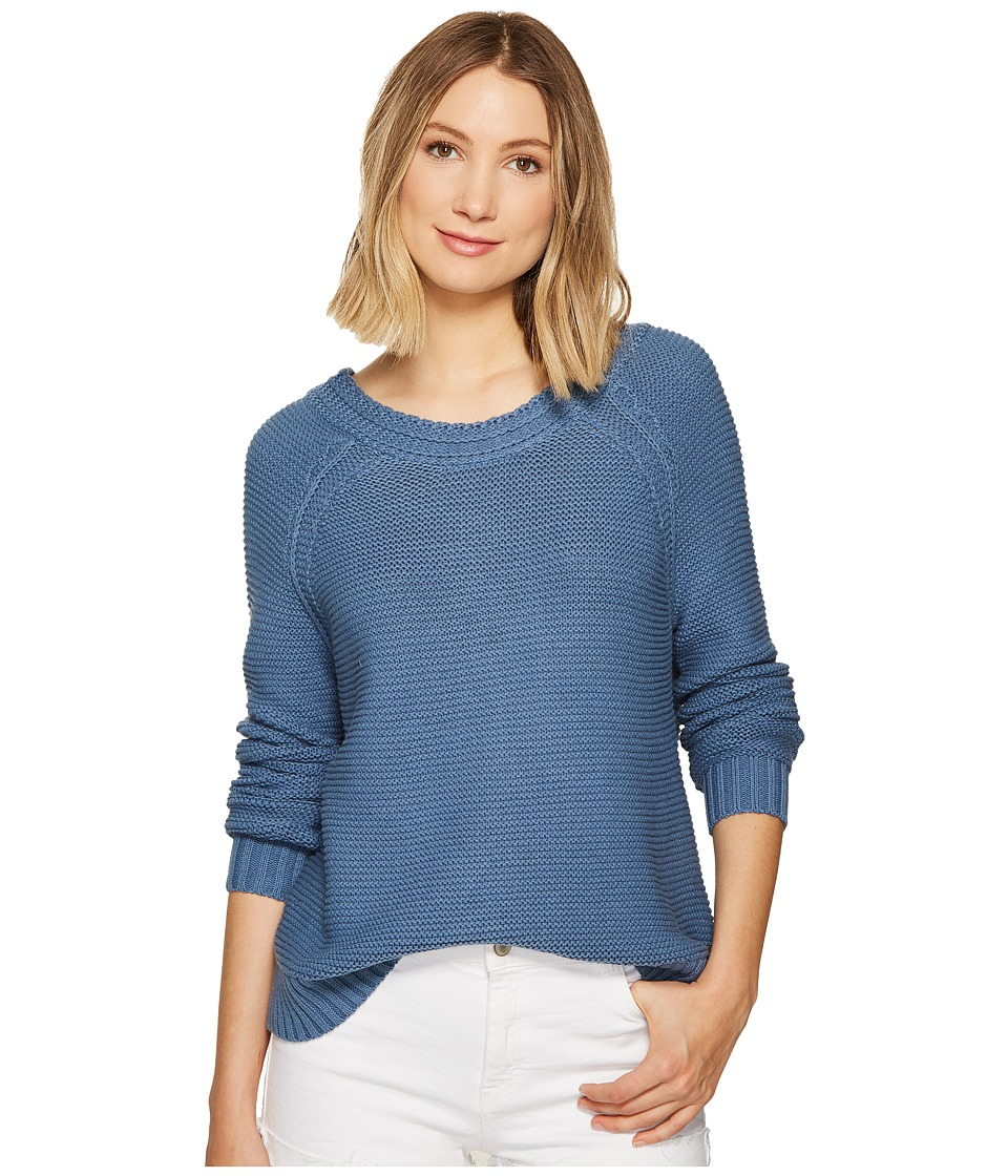 Roxy - Lost Coastlines Sweater (Captains Blue) Women's Sweater