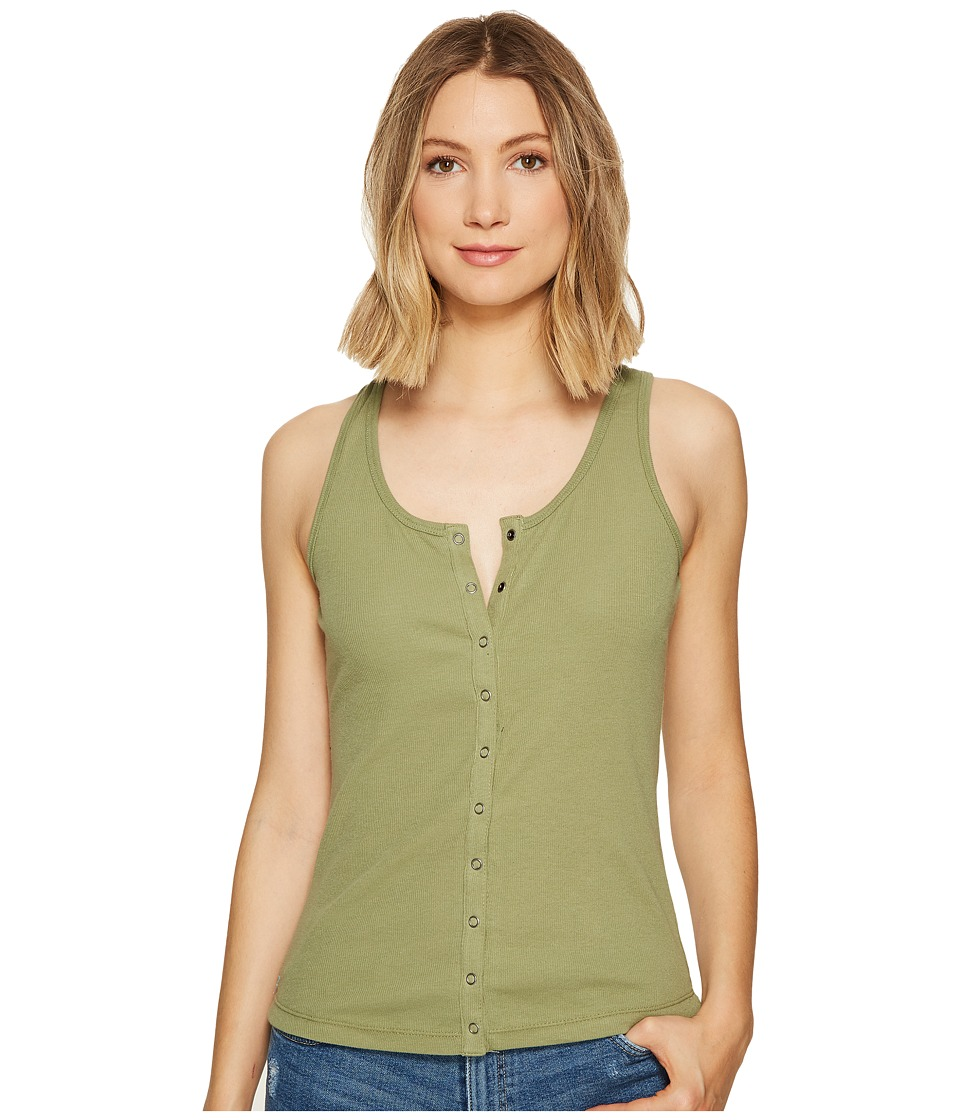 Roxy - Technical Beat Tank Top (Oil Green) Women's T Shirt