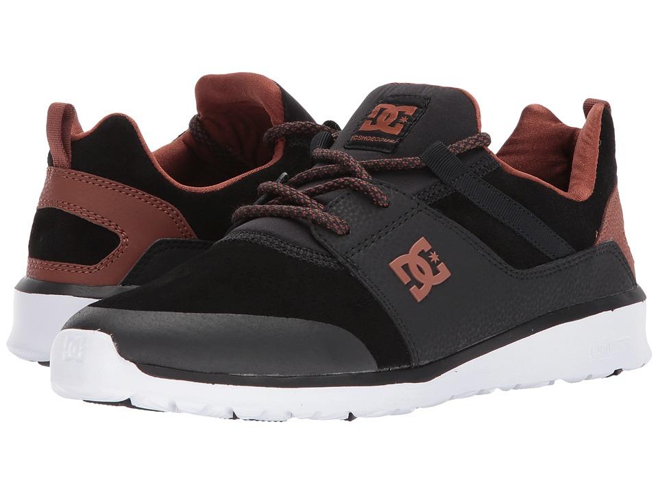 DC Heathrow Prestige (Black/Brown/White) Skate Shoes
