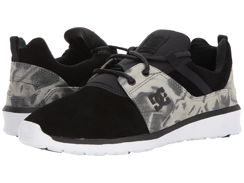 DC Heathrow SE (Black Destroy Wash) Skate Shoes