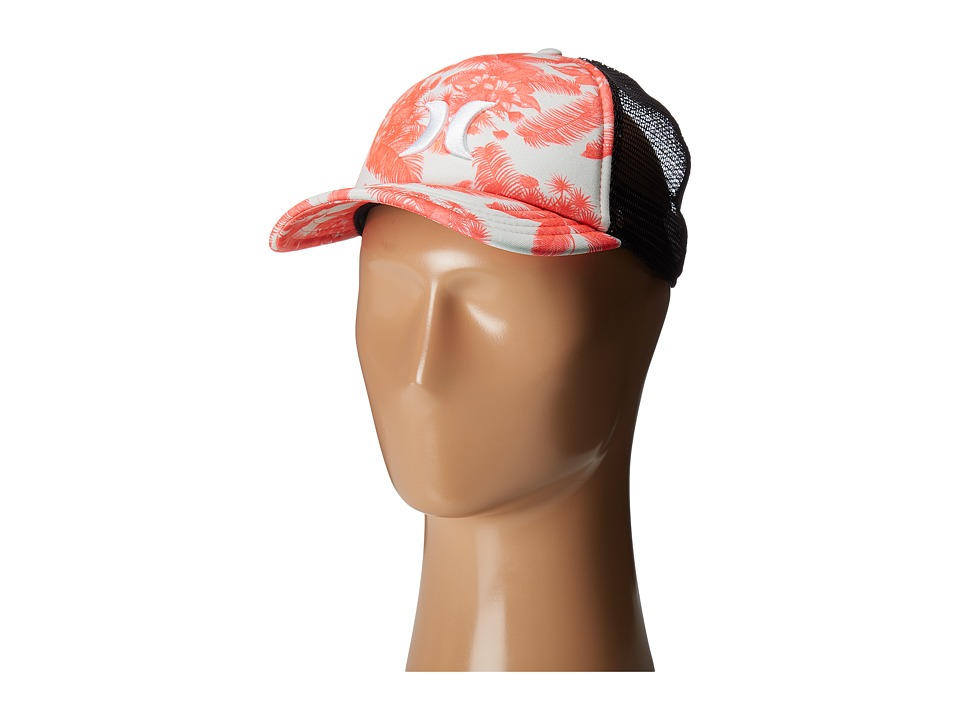 Hurley - Colin Trucker Hat (Bright Crimson 2) Caps
