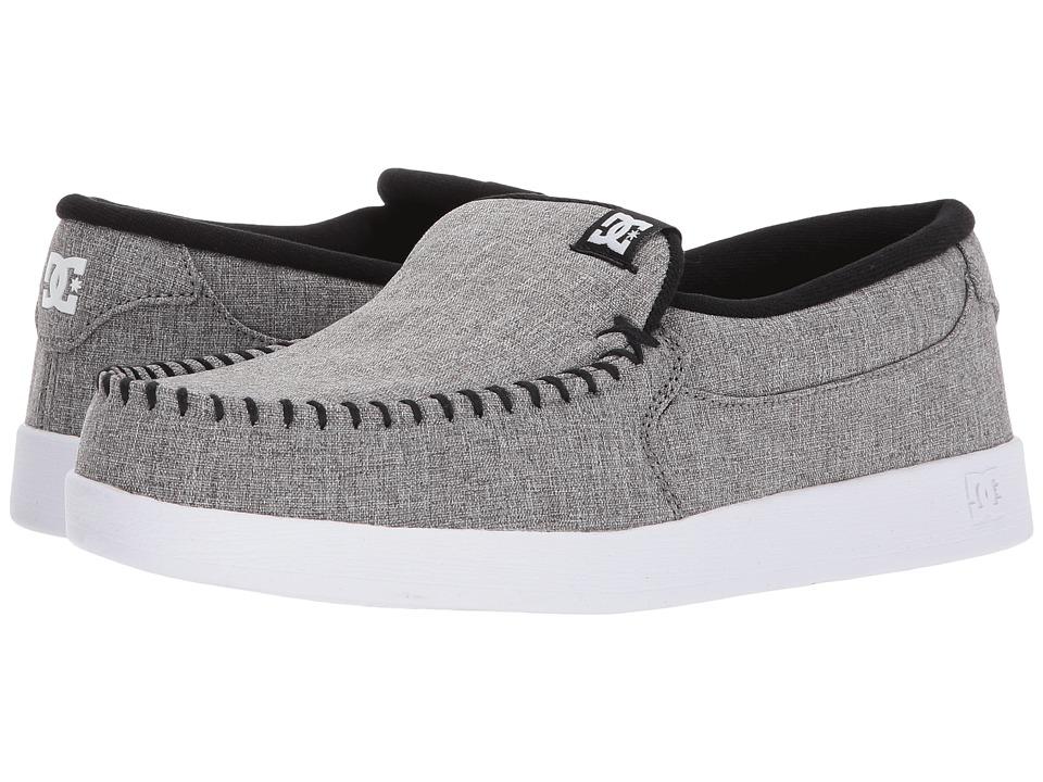 DC - Villain TX (Grey Resin Rinse) Men's Skate Shoes