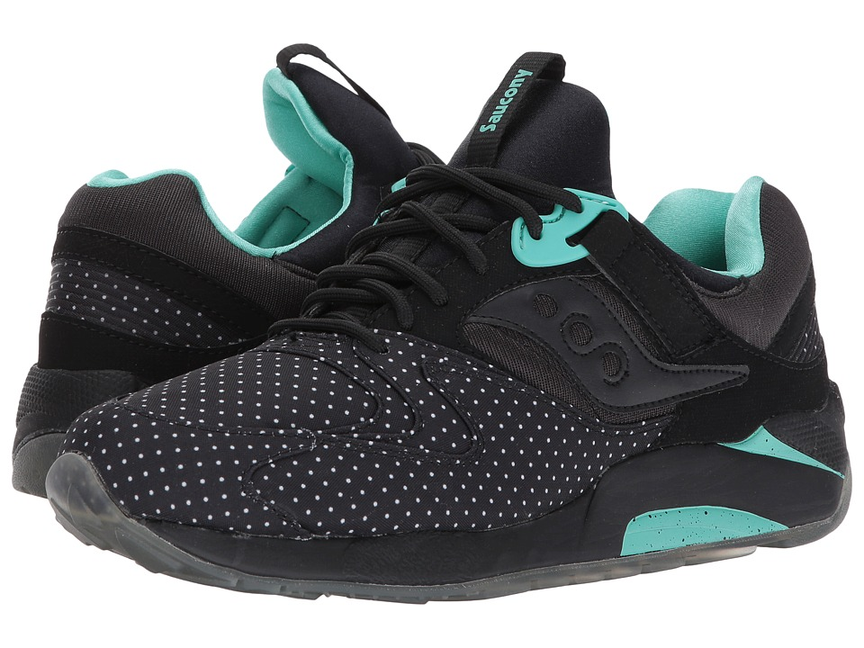 Saucony Originals - Grid 9000 (Black) Shoes