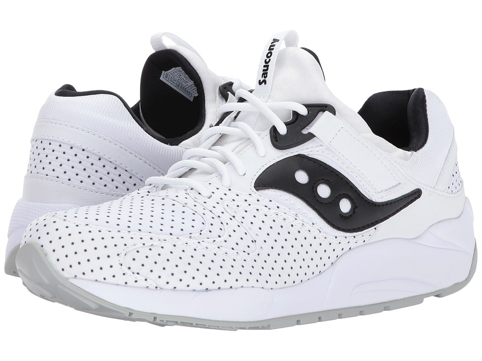 Saucony Originals Grid 9000 (White) Shoes