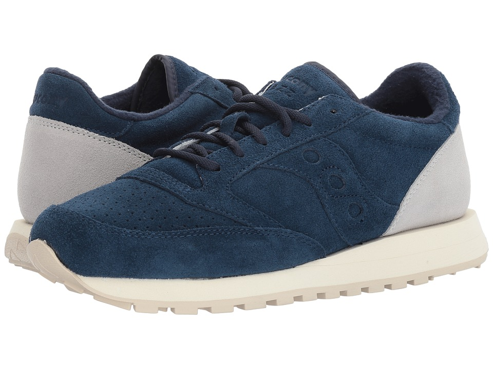 Saucony Originals - Jazz O Premium Suede (Navy) Shoes