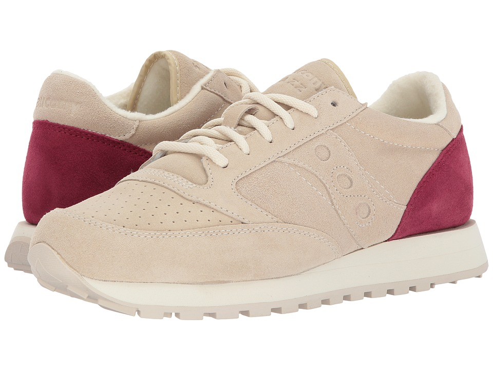 Saucony Originals - Jazz O Premium Suede (Cream) Shoes