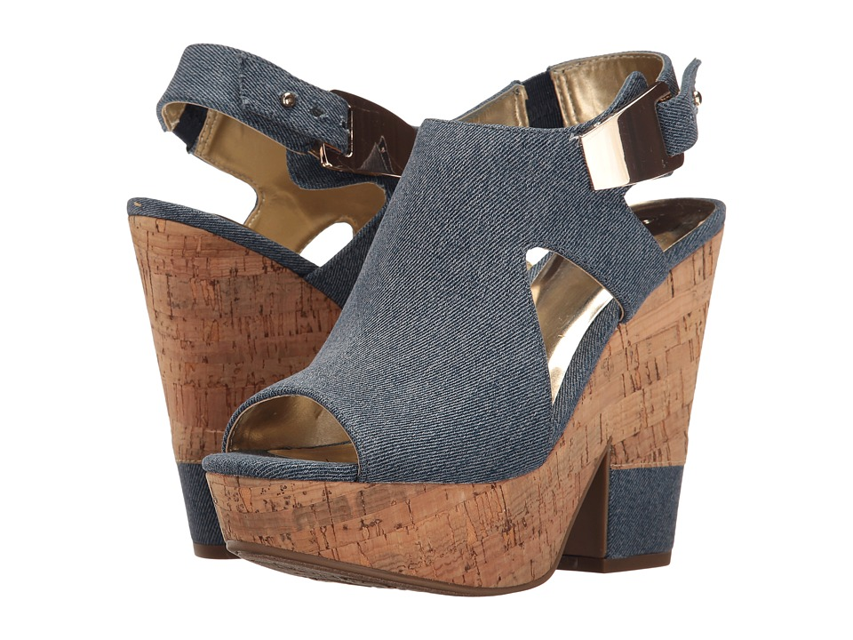 CARLOS by Carlos Santana - Bristol (Denim Blue) Women's Shoes