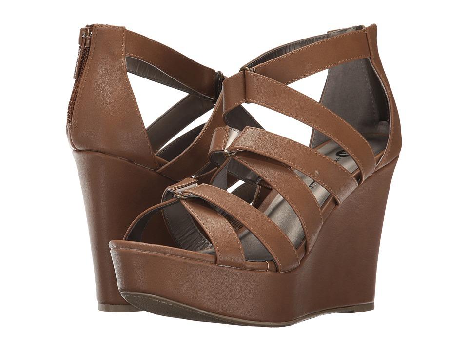Michael Antonio - Rett (Cocoa PU) Women's Wedge Shoes