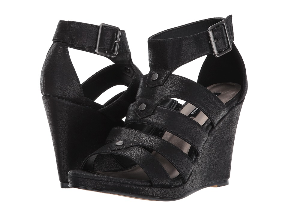Michael Antonio Kikki-Met (Black Metallic PU) Women
