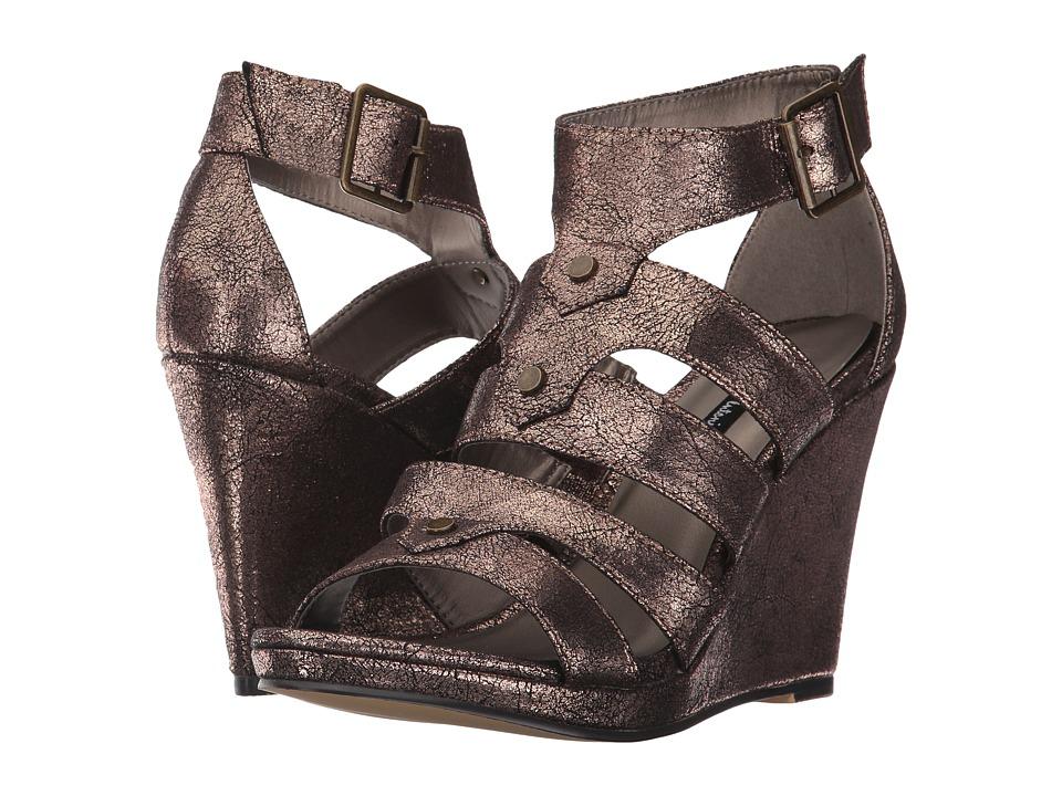 Michael Antonio - Kikki-Met (Copper Metallic PU) Women's Wedge Shoes