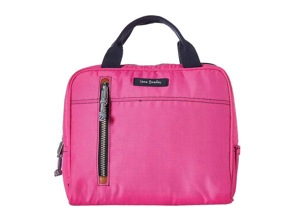 Vera Bradley - Lighten Up Lunch Cooler (Bright Orchid) Handbags