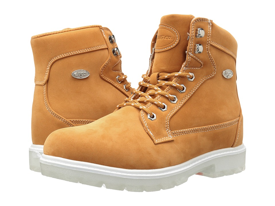 Lugz - Regiment Hi TL (Golden Wheat/White/Clear) Women's Shoes