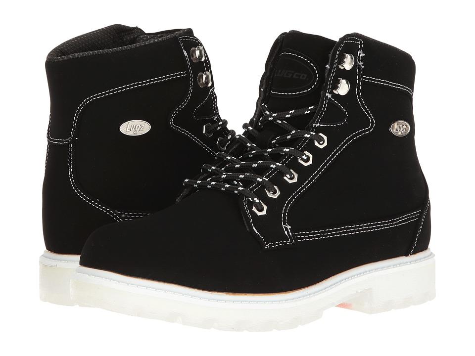 Lugz - Regiment Hi TL (Black/White/Clear) Women's Shoes
