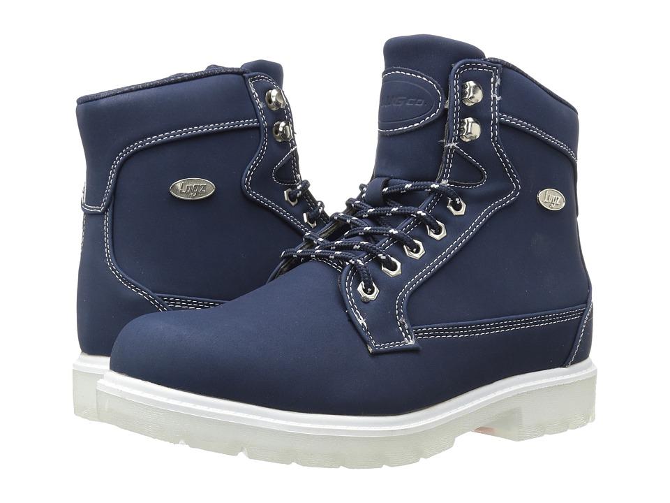 Lugz - Regiment Hi TL (Navy/White/Clear) Women's Shoes