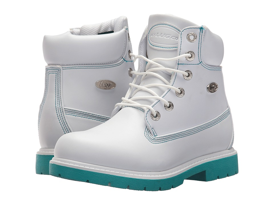 Lugz - Shifter 6 (White/Teal) Women's Shoes