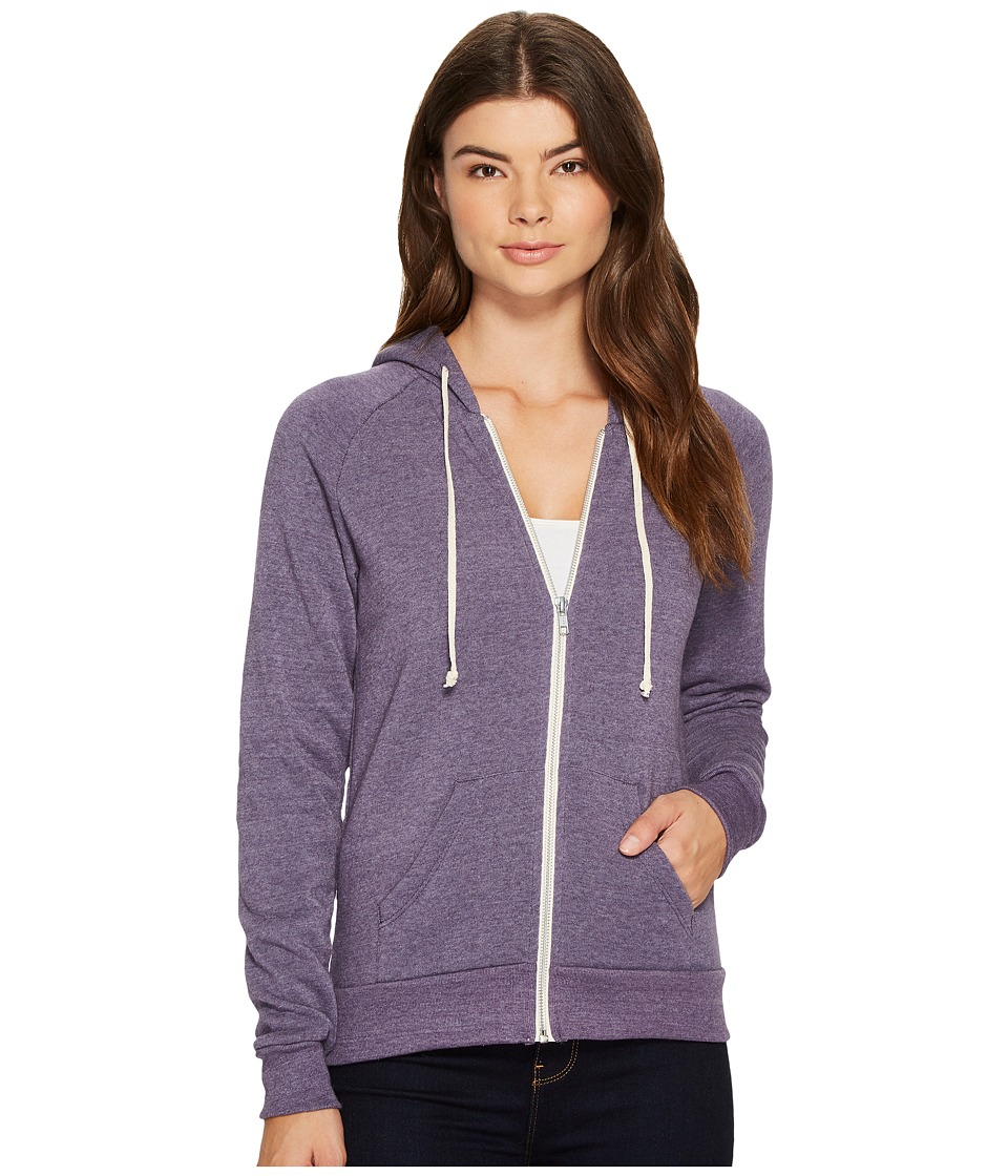 Alternative - Adrian Hoodie (Eco True Deep Purple) Women's Sweatshirt