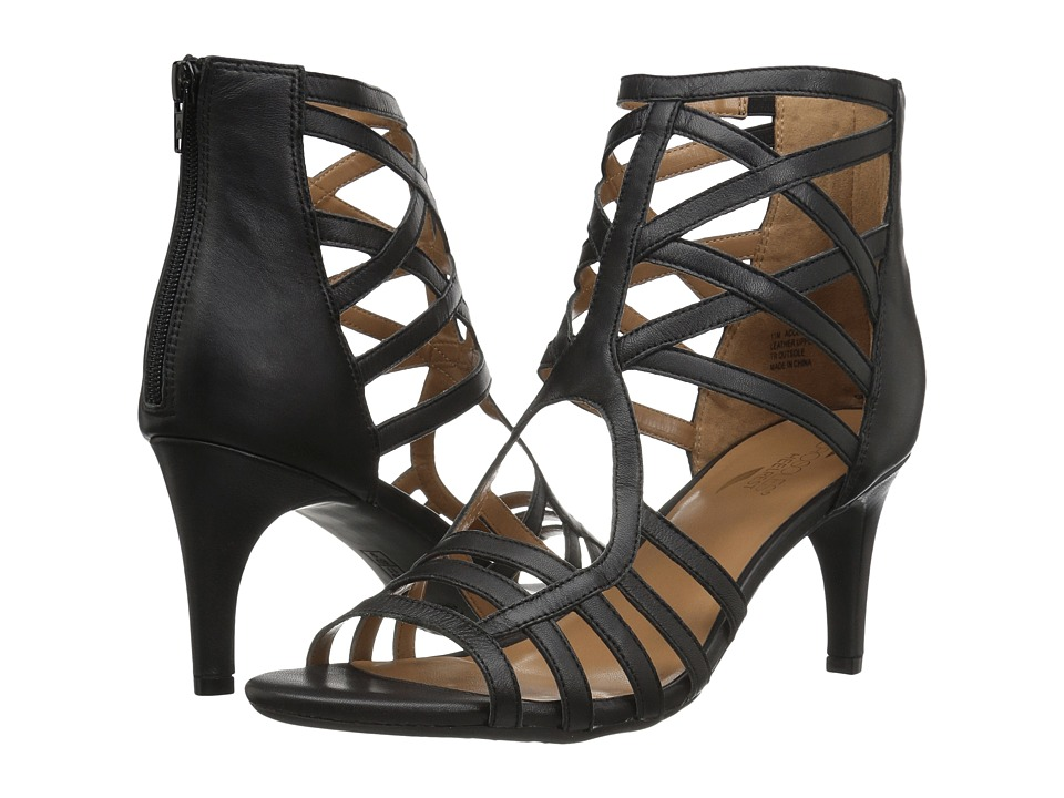 Image of Aerosoles - Acclamation (Black Leather) High Heels